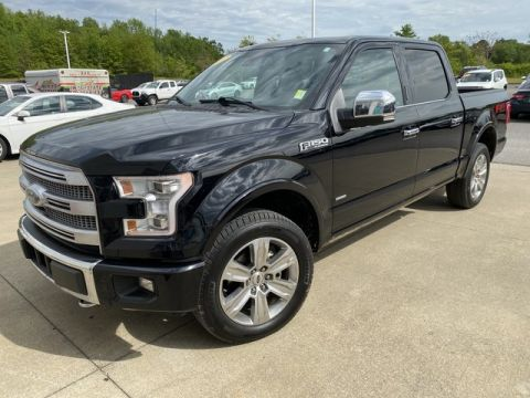 Pre-Owned 2017 Ford F-150 Platinum Four Wheel Drive Pickup Truck