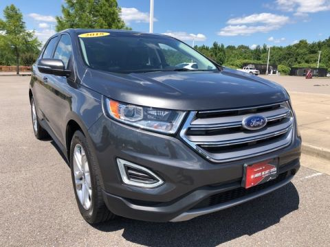 Pre-Owned 2018 Ford Edge Titanium All Wheel Drive Sport Utility