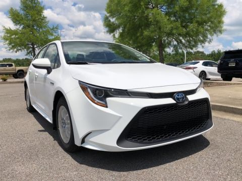 New 2021 Toyota Corolla Hybrid LE Front Wheel Drive Sedan